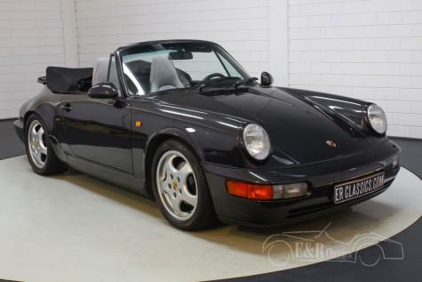 Prodám Porsche 964 Carrera Cabriolet