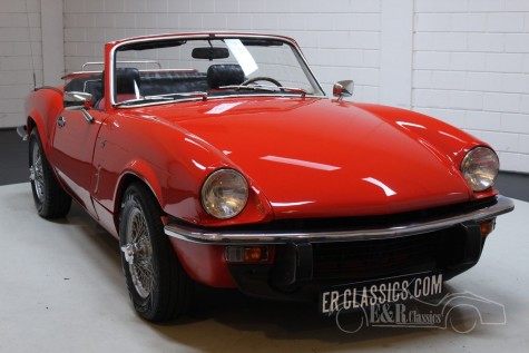 Triumph Spitfire 1500 Cabriolet 1977  for sale