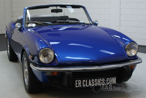 Triumph Spitfire 1500 Cabriolet 1975  for sale