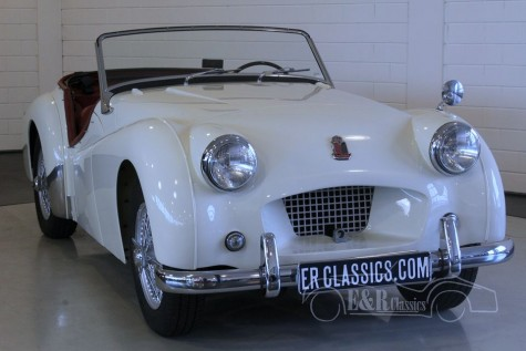 Triumph TR2 roadster Long Door 1954 for sale