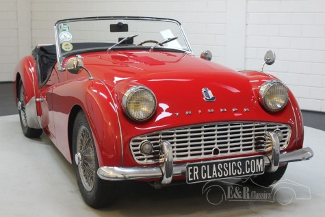 Triumph TR3A 1960 till salu