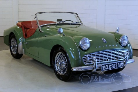 Triumph TR3A Roadster 1959 for sale