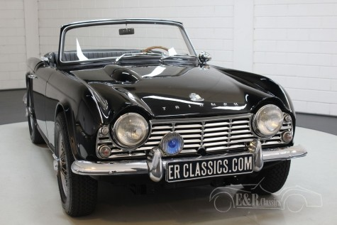 Triumph TR4 Overdrive 1963 למכירה