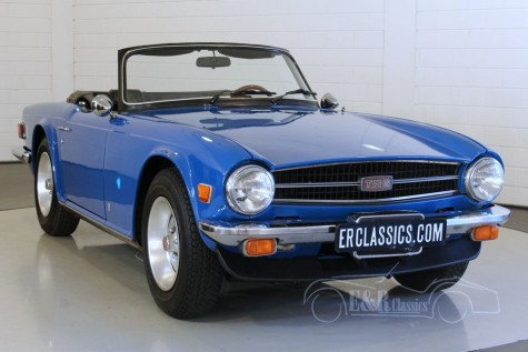 Triumph TR6 Cabriolet 1976  for sale