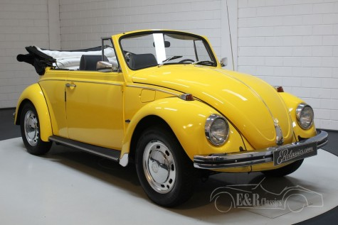 VW Beetle convertible 1968 de vânzare
