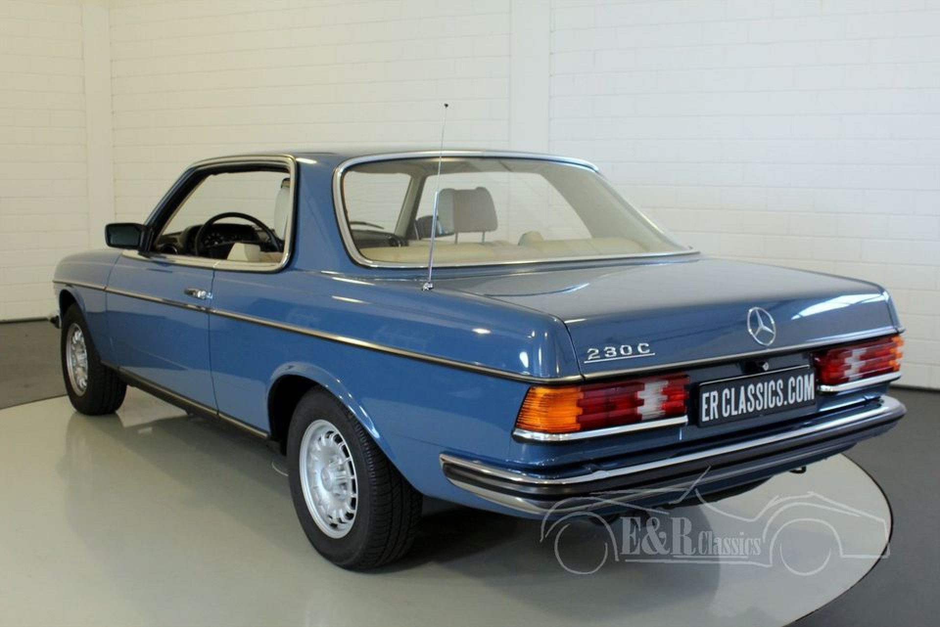 mercedes benz 230 c 1979 for sale at erclassics. Black Bedroom Furniture Sets. Home Design Ideas