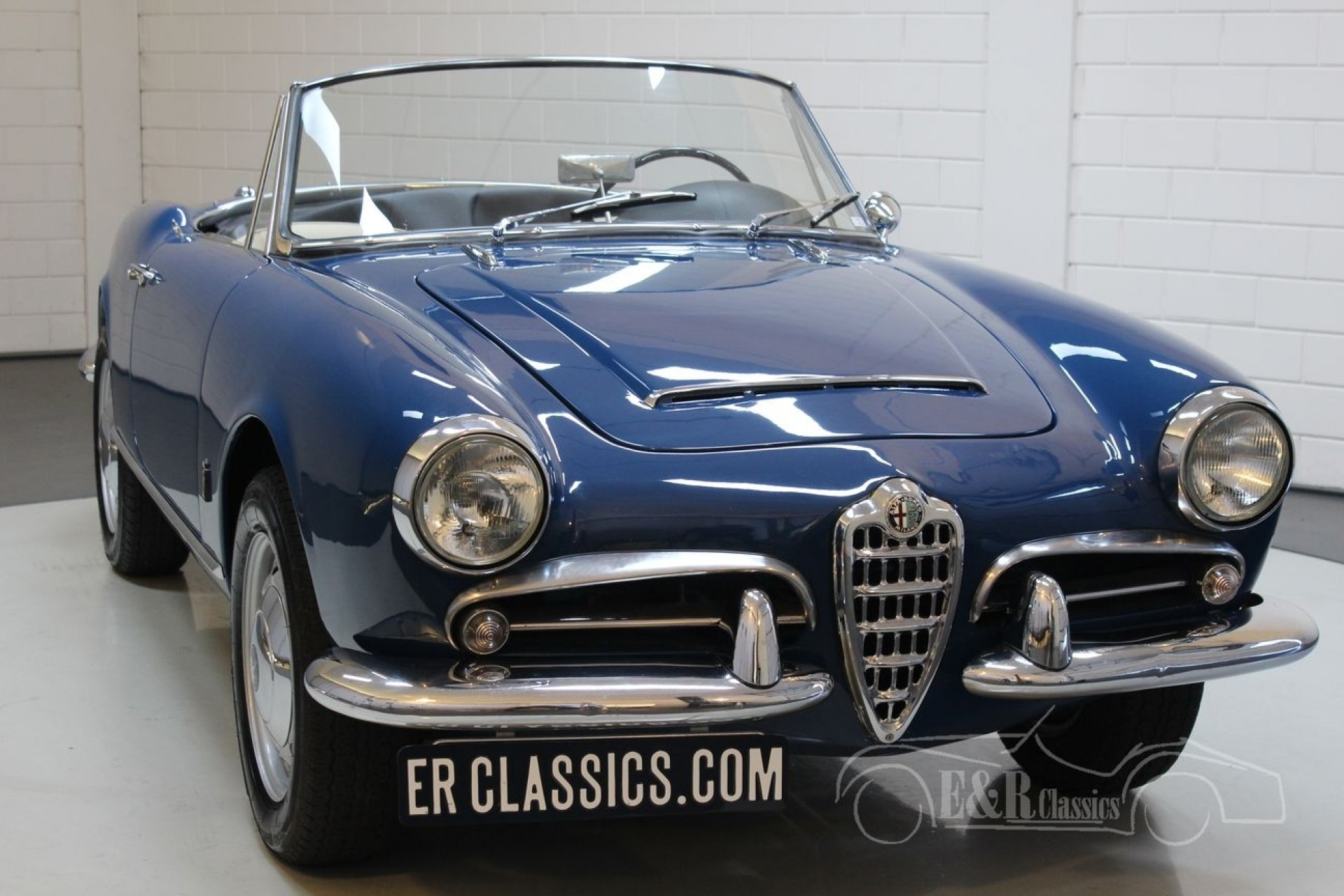 Alfa Romeo Giulia 1600 Spider 1963 For Sale At Erclassics