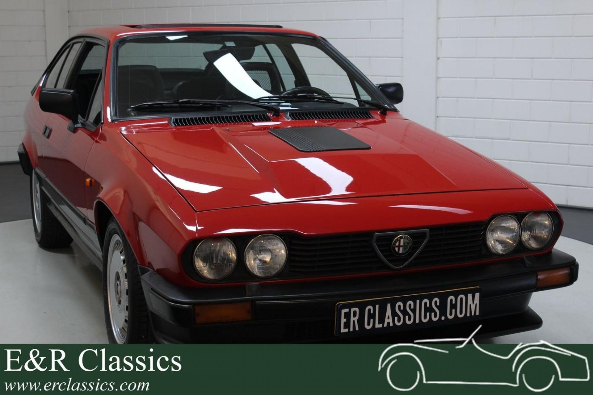 Alfa Romeo Gtv6 2 5 V6 1986 For Sale At Erclassics