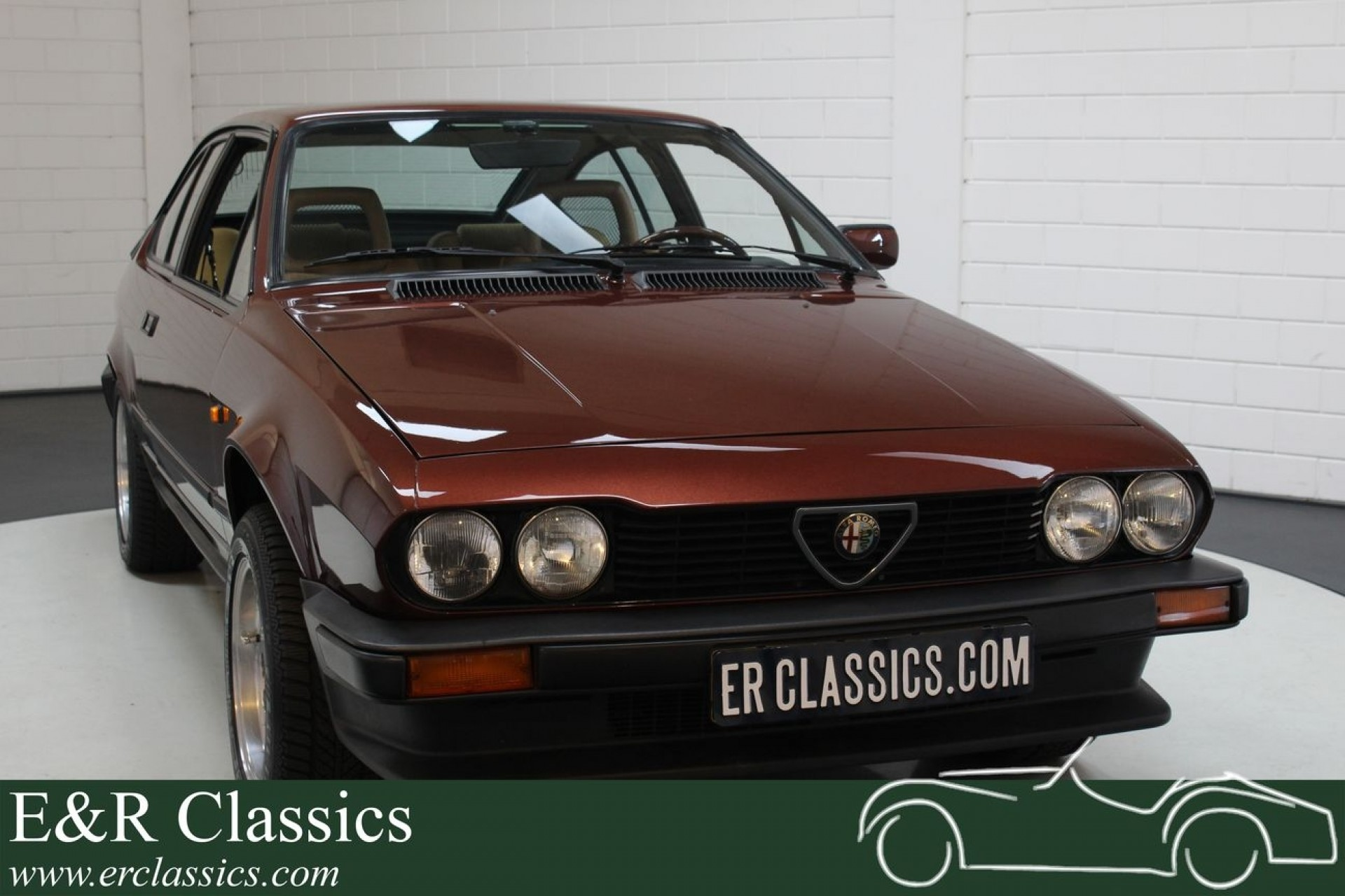 Alfa Romeo Alfetta Gtv 2 0 1986 For Sale At Erclassics