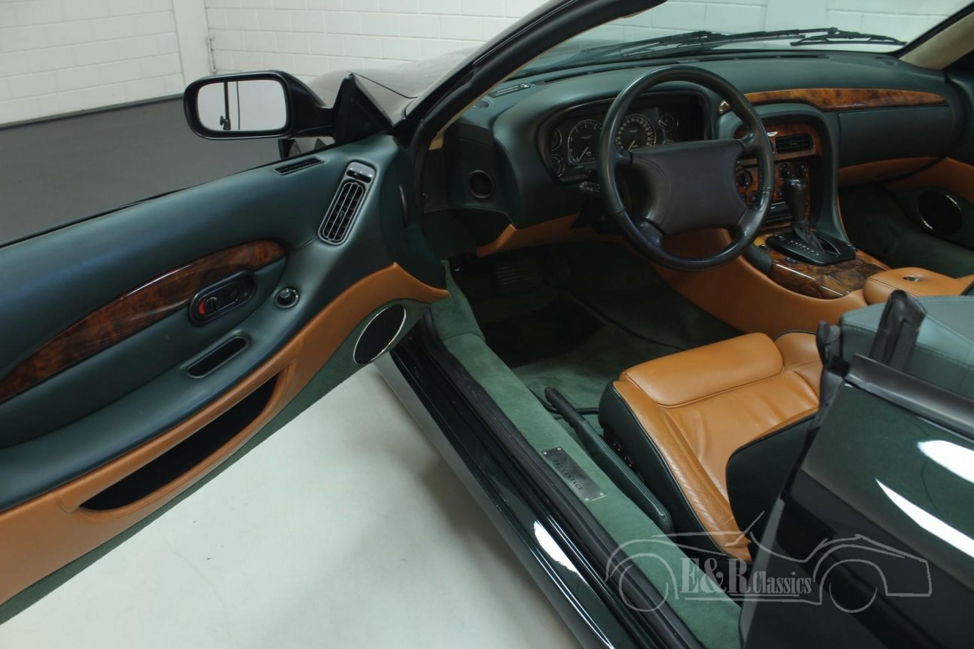 Aston Martin Db7 Vantage Volante 2000 For Sale At Erclassics