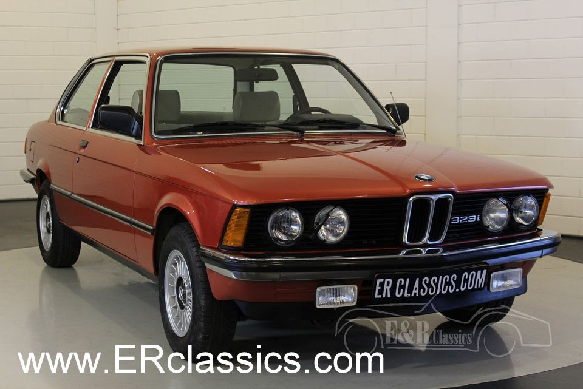 bmw 323i coupe e21 1981 for sale at erclassics. Black Bedroom Furniture Sets. Home Design Ideas