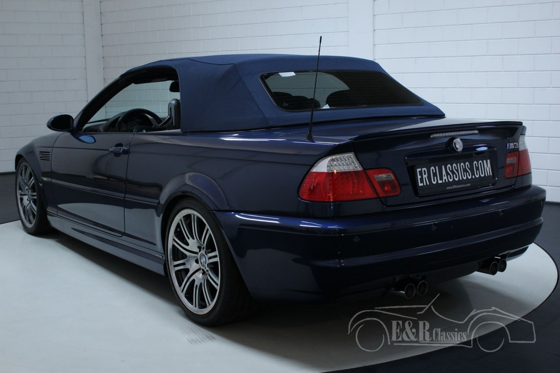 Bmw M3 Convertible 2005 M Series Details For Sale At Erclassics