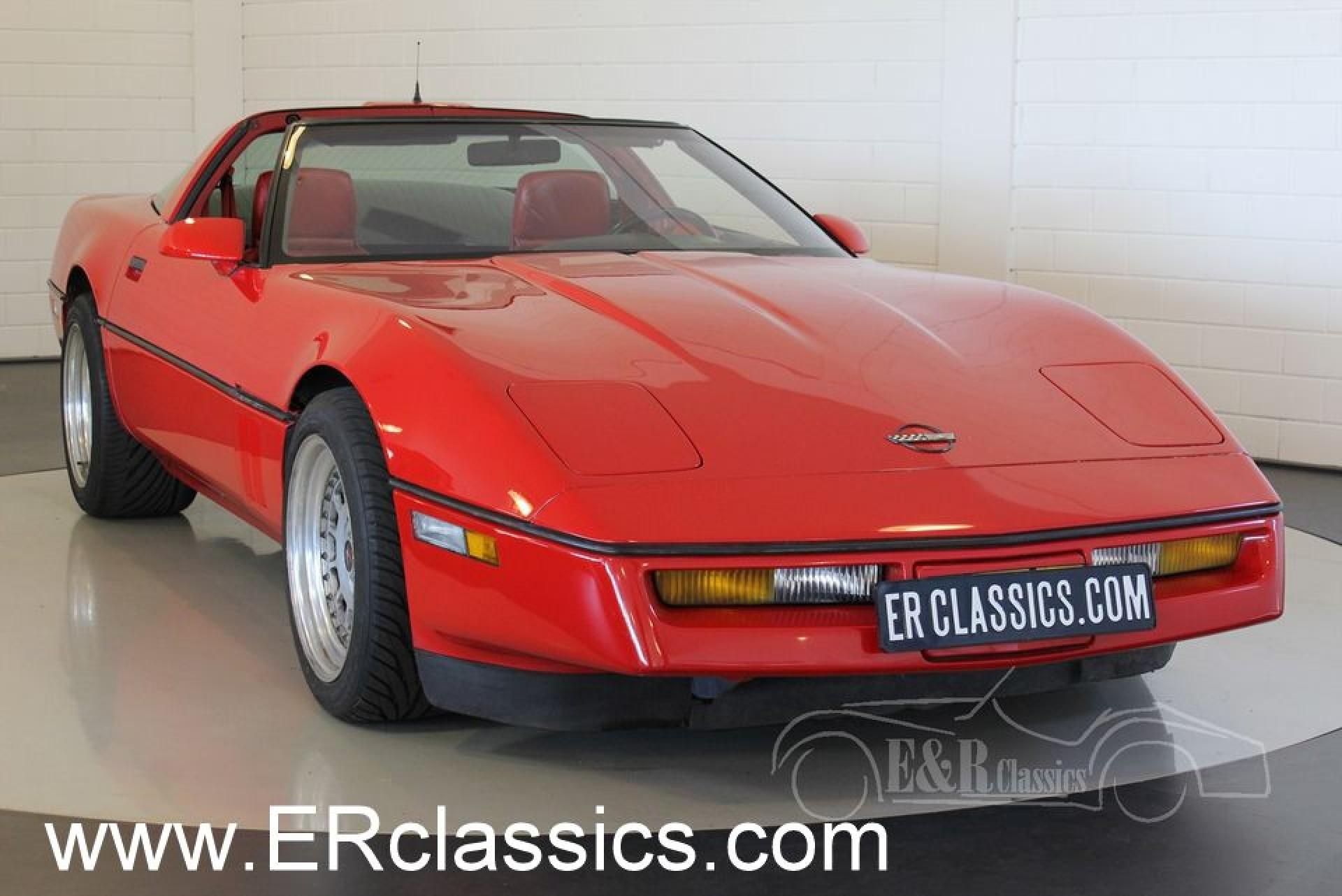 chevrolet corvette zr 1 c4 targa 1990 for sale at erclassics rh erclassics  com C5 Corvette Interior C5 Corvette Interior