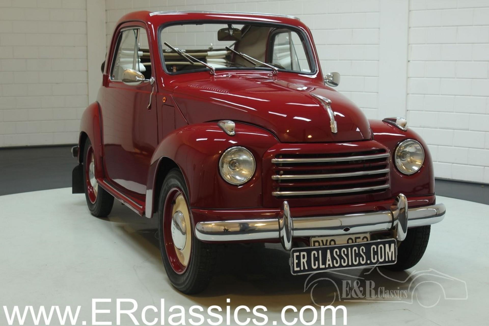 Fiat 500 C Topolino 1952
