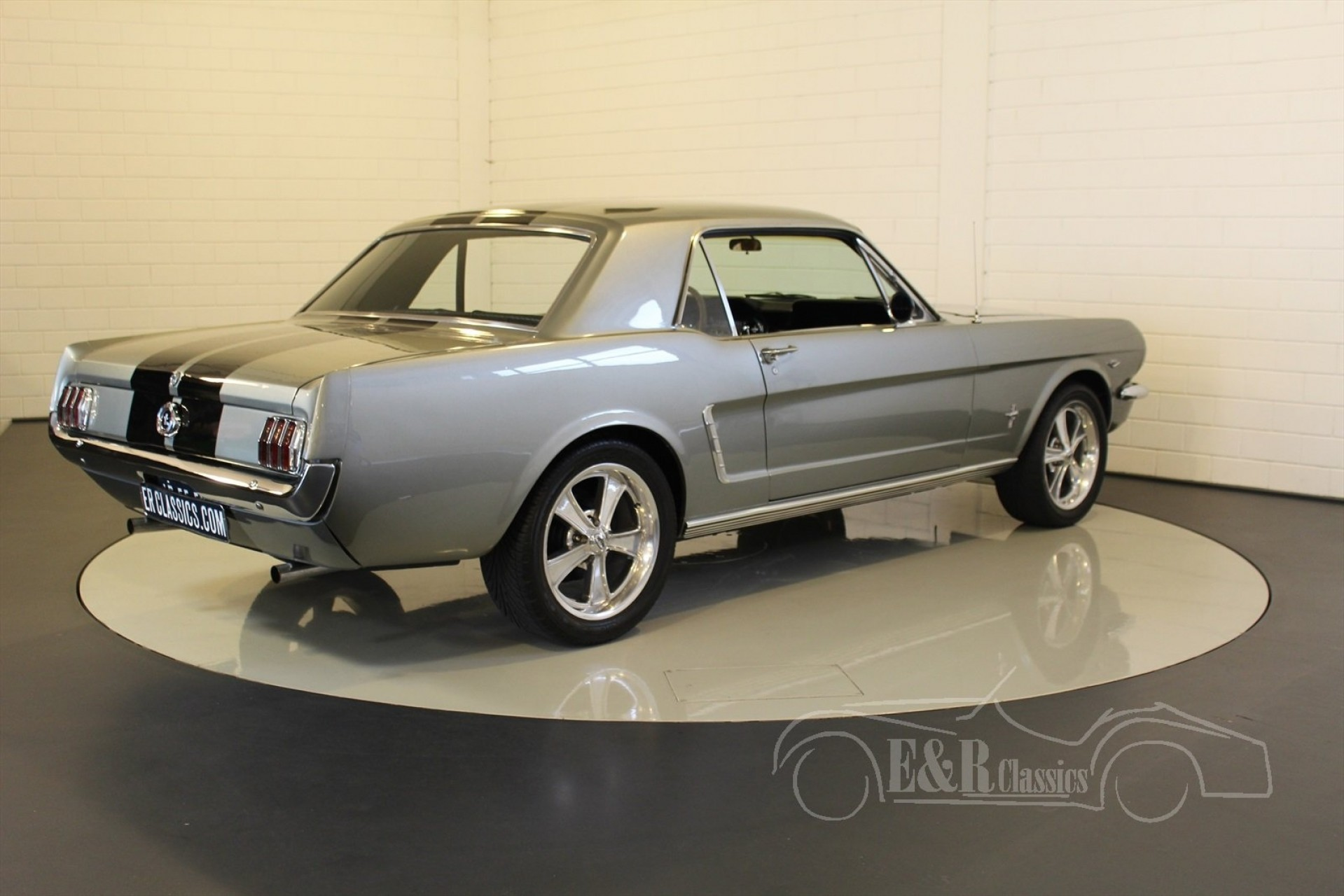 ford mustang coupe 1965 for sale at erclassics. Black Bedroom Furniture Sets. Home Design Ideas