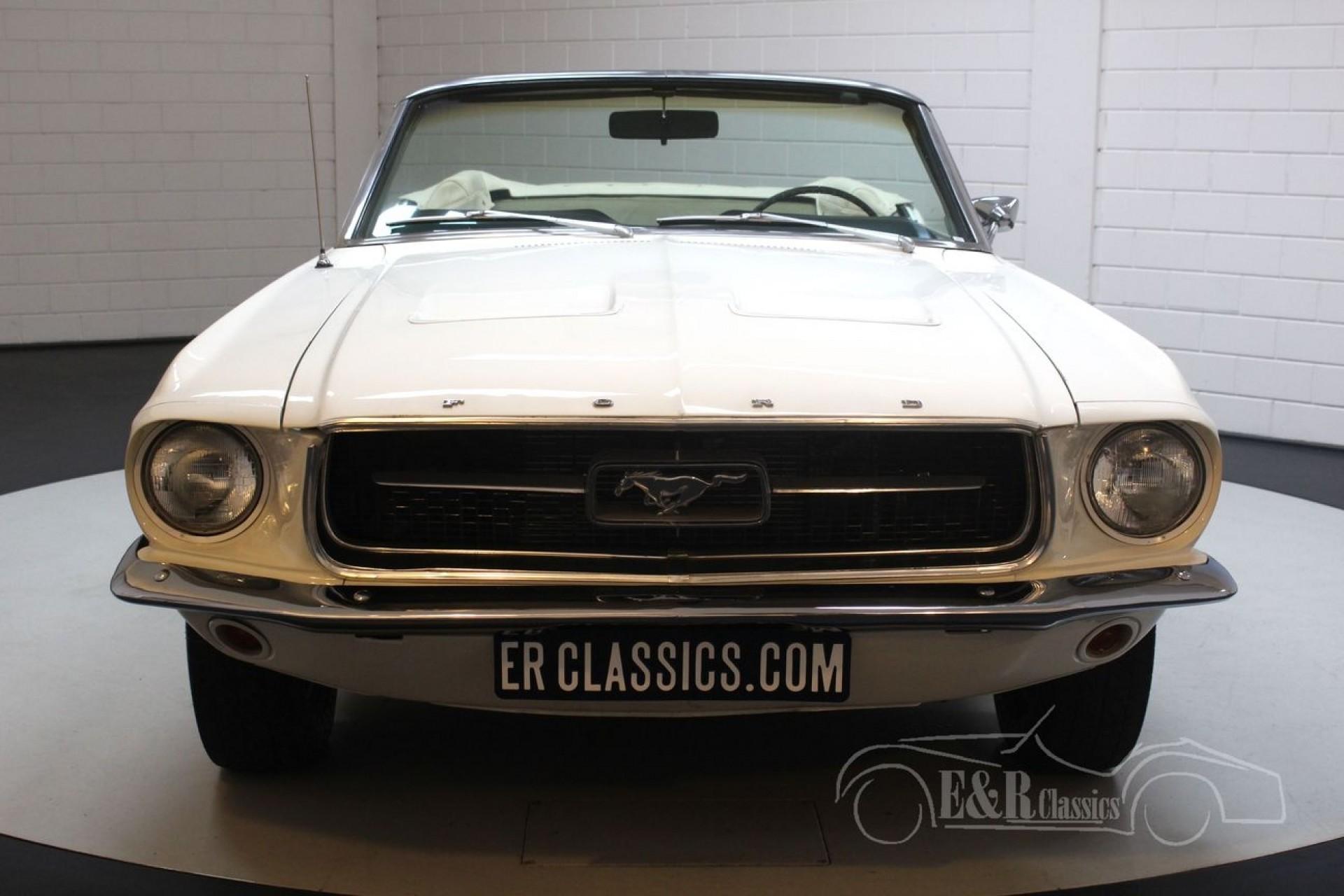 Ford mustang v8 cabriolet 1967 till salu 46 foton