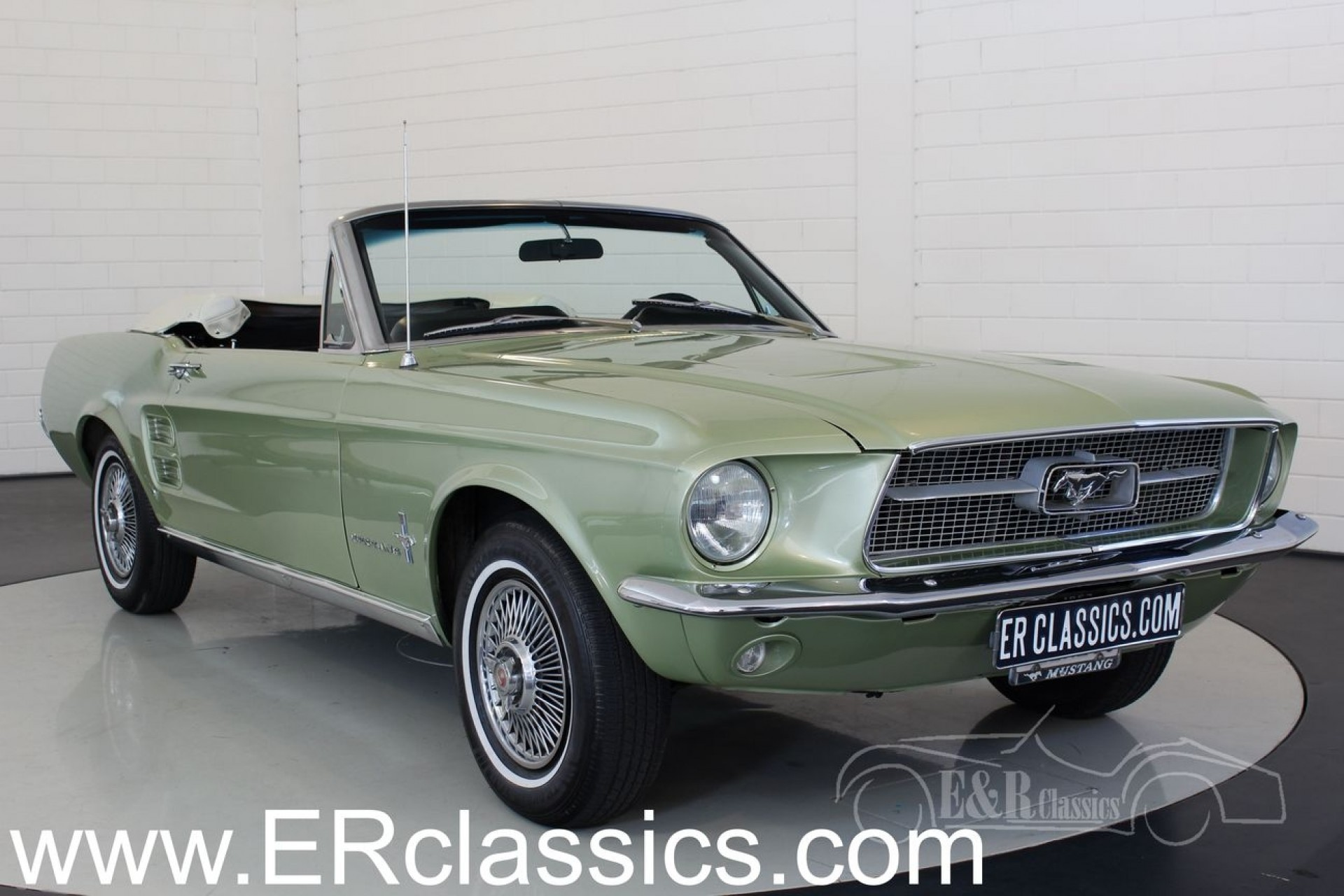 ford mustang cabriolet 1967 for sale at erclassics. Black Bedroom Furniture Sets. Home Design Ideas