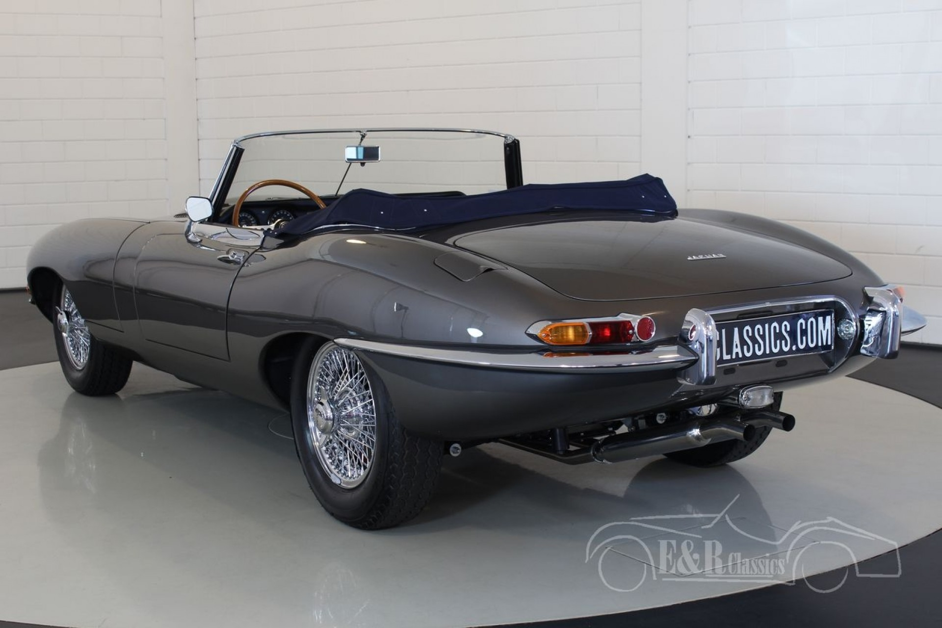jaguar e type s1 3 8l cabriolet 1963 for sale at erclassics. Black Bedroom Furniture Sets. Home Design Ideas