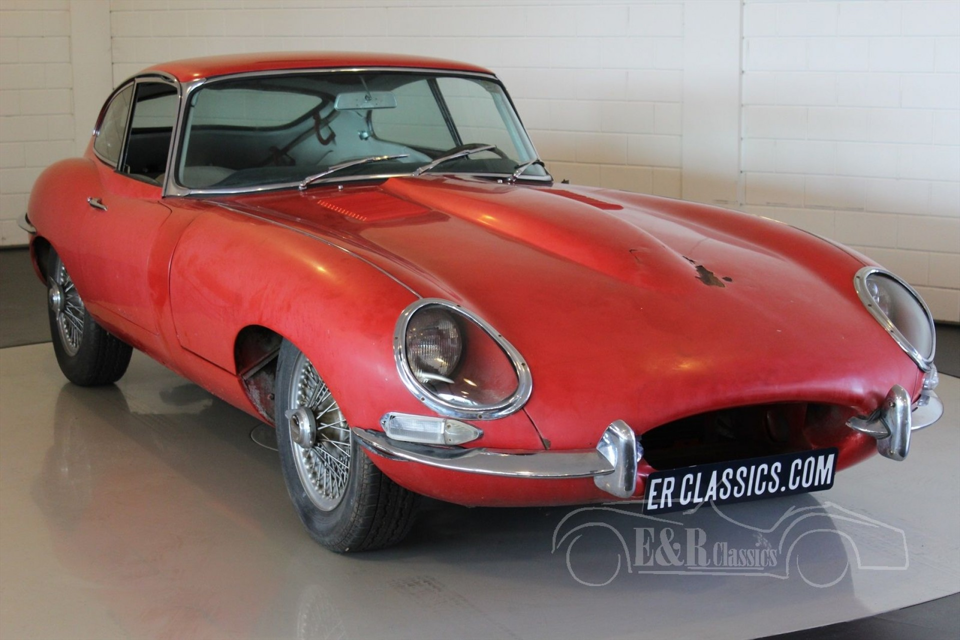 jaguar e type series 1 coupe 1962 for sale at erclassics. Black Bedroom Furniture Sets. Home Design Ideas