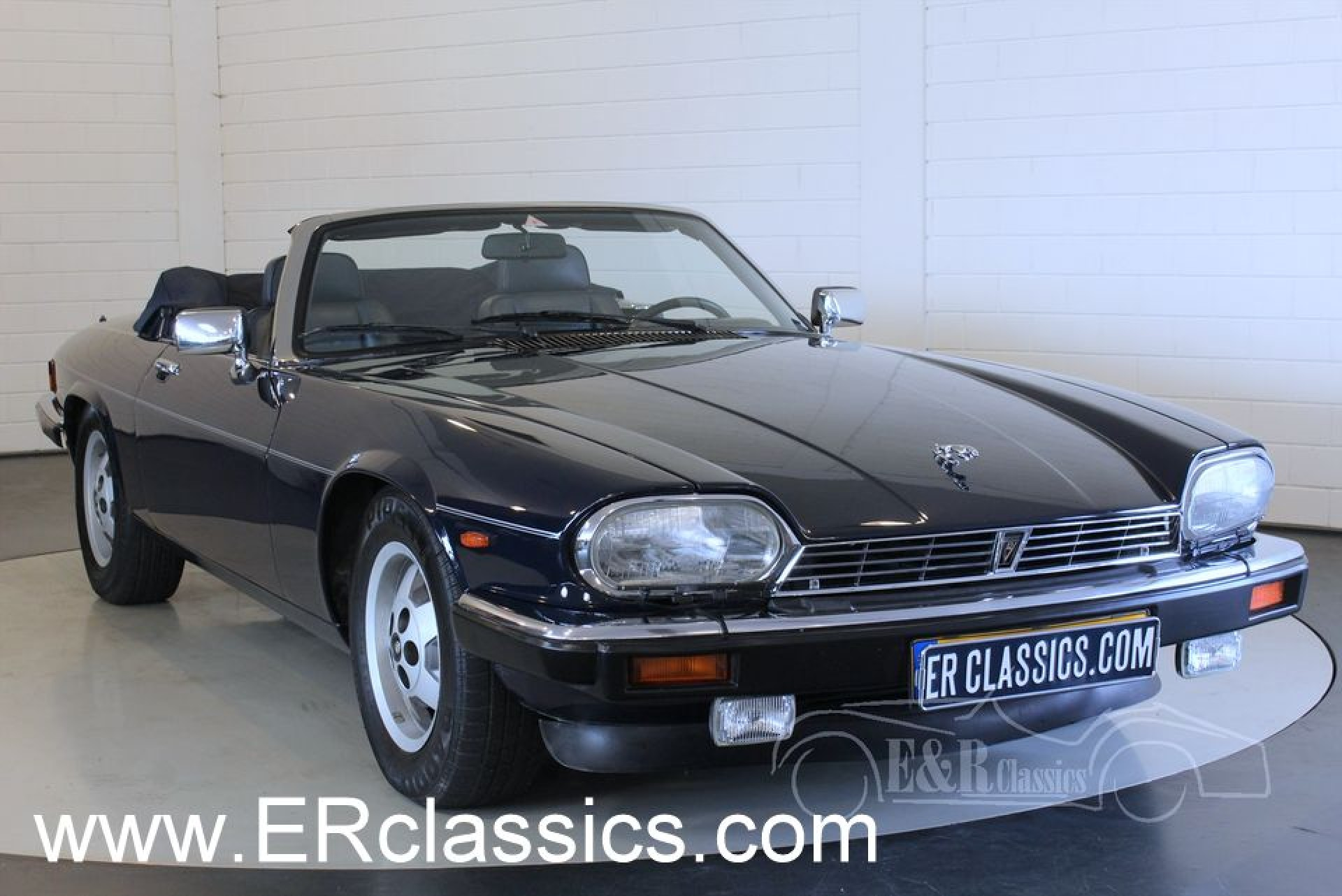 jaguar xjs cabriolet 1989 for sale at erclassics. Black Bedroom Furniture Sets. Home Design Ideas