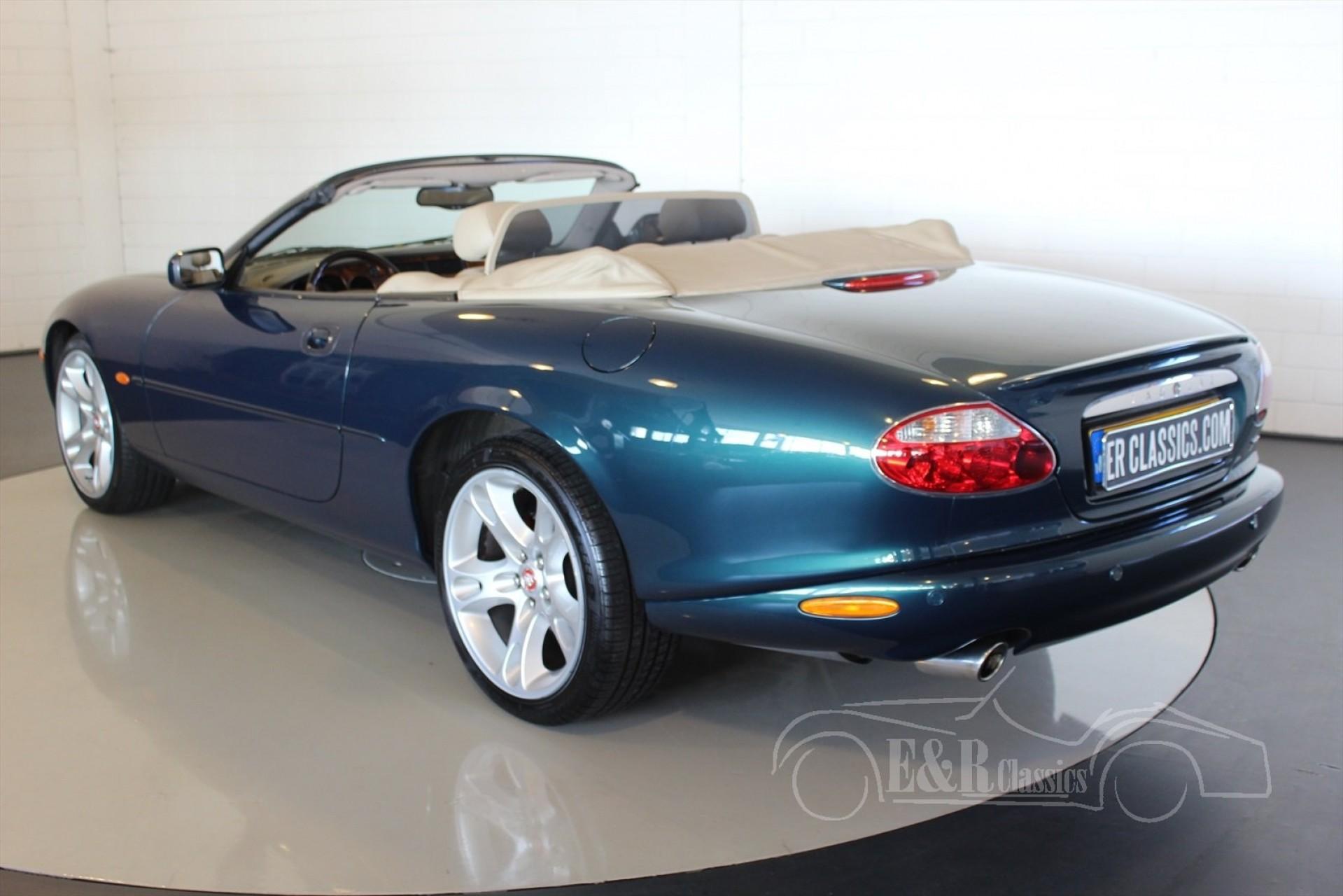 jaguar xkr 2002 for sale at erclassics. Black Bedroom Furniture Sets. Home Design Ideas