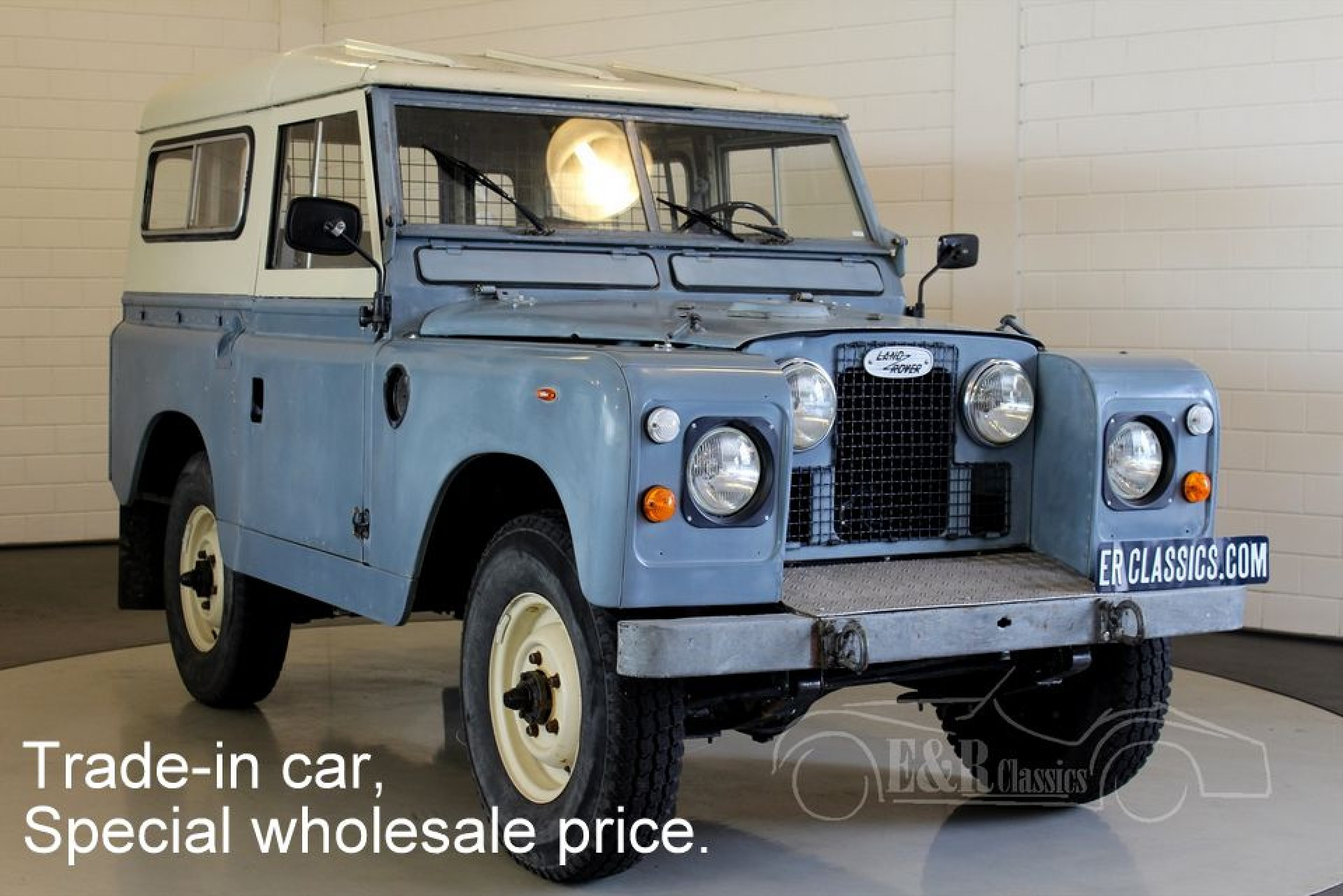 land rover 88 series ii a 1963 for sale at erclassics. Black Bedroom Furniture Sets. Home Design Ideas