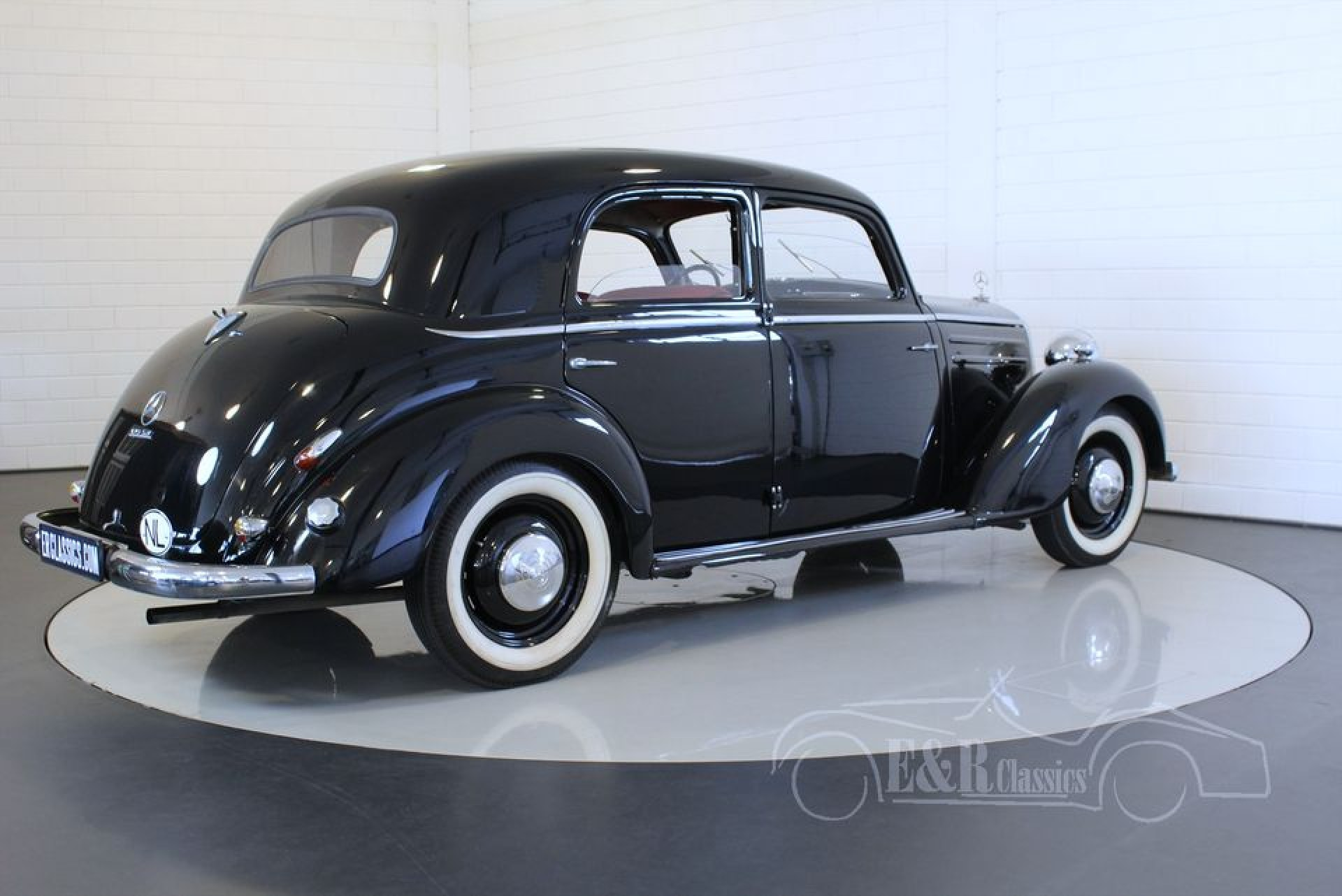 Mercedes benz 170 sv diesel 1953 for sale at erclassics for 1953 mercedes benz 220 sedan for sale