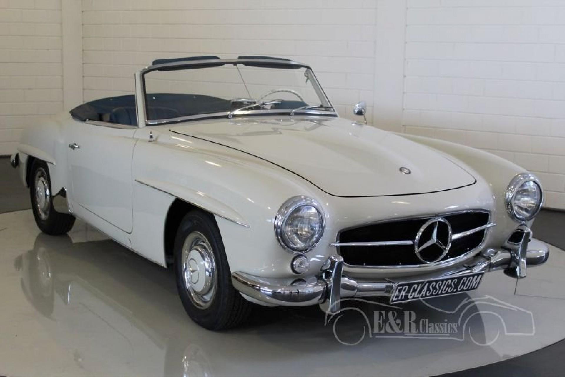 Mercedes benz 190sl cabriolet 1960 for sale at erclassics for Mercedes benz e350 cabriolet for sale