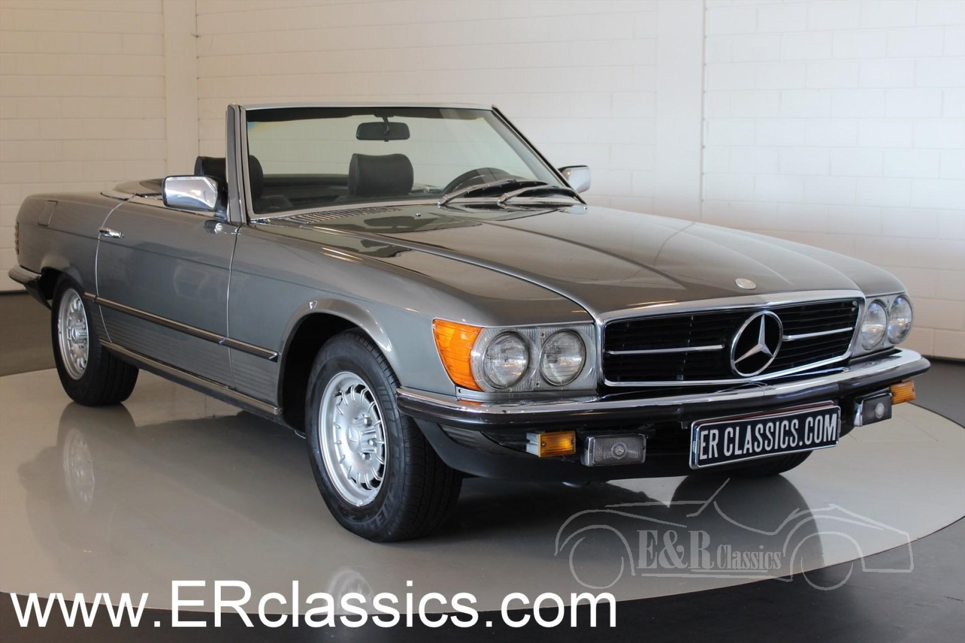 Mercedes benz sl 280 cabriolet 1980 for sale at erclassics for Classic sl mercedes benz for sale