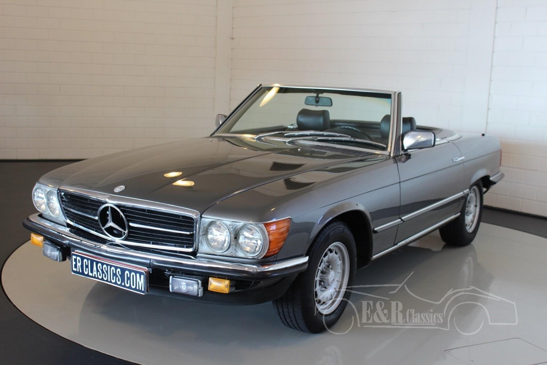 Mercedes benz sl 280 cabriolet 1980 for sale at erclassics for Mercedes benz classics for sale