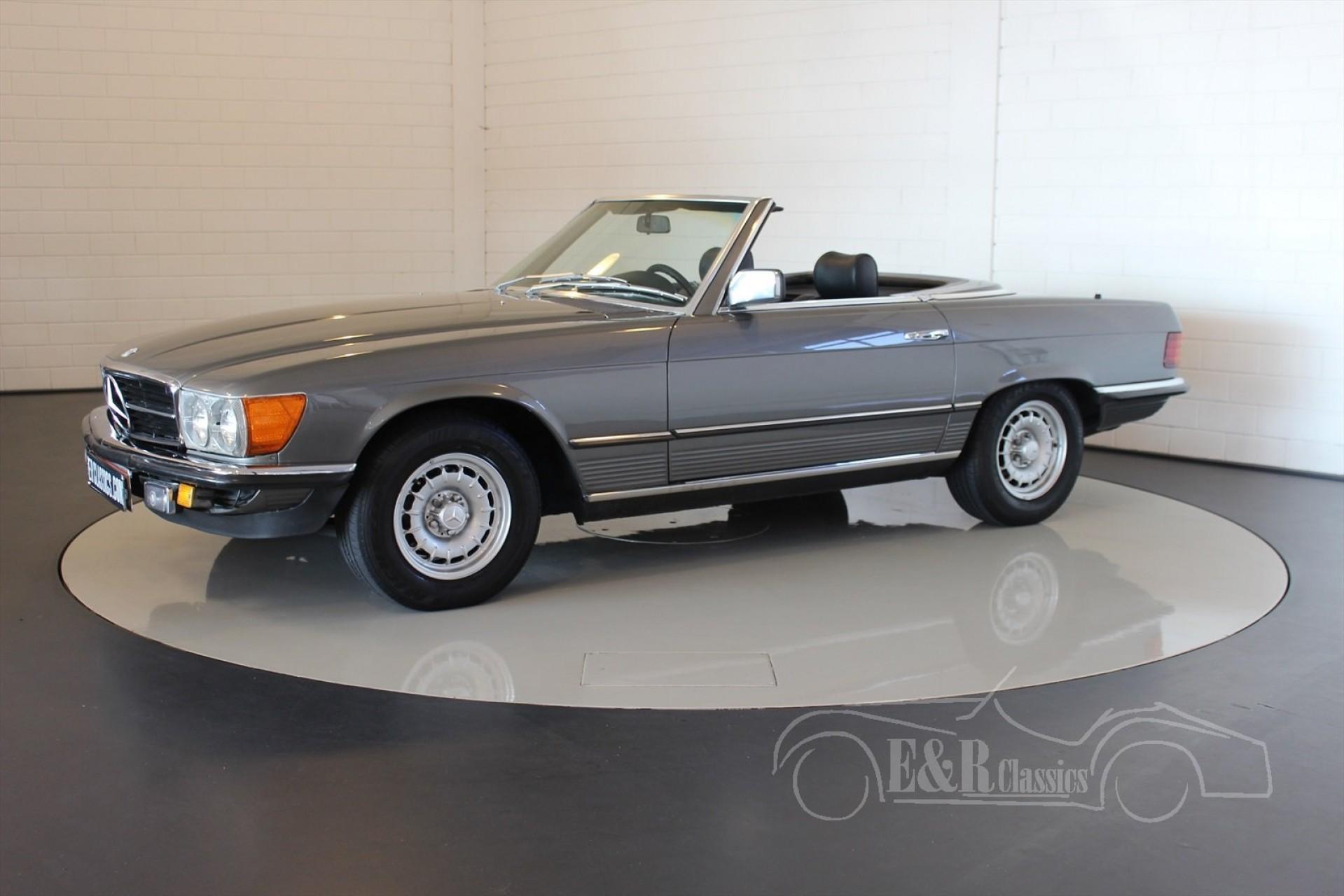 Mercedes benz sl 280 cabriolet 1980 for sale at erclassics for Mercedes benz sl280 for sale