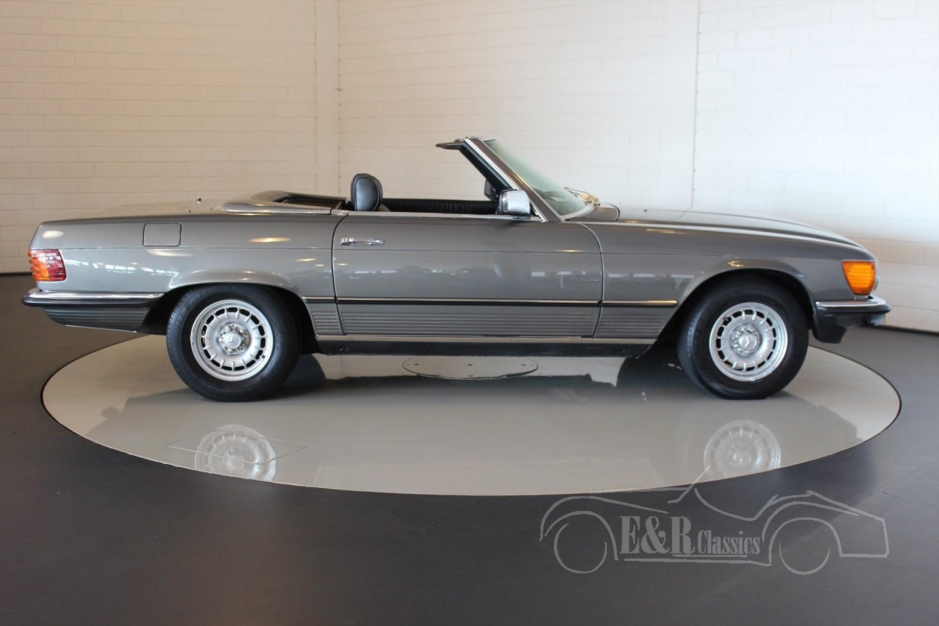 Mercedes benz sl 280 cabriolet 1980 for sale at erclassics for Mercedes benz sl 280