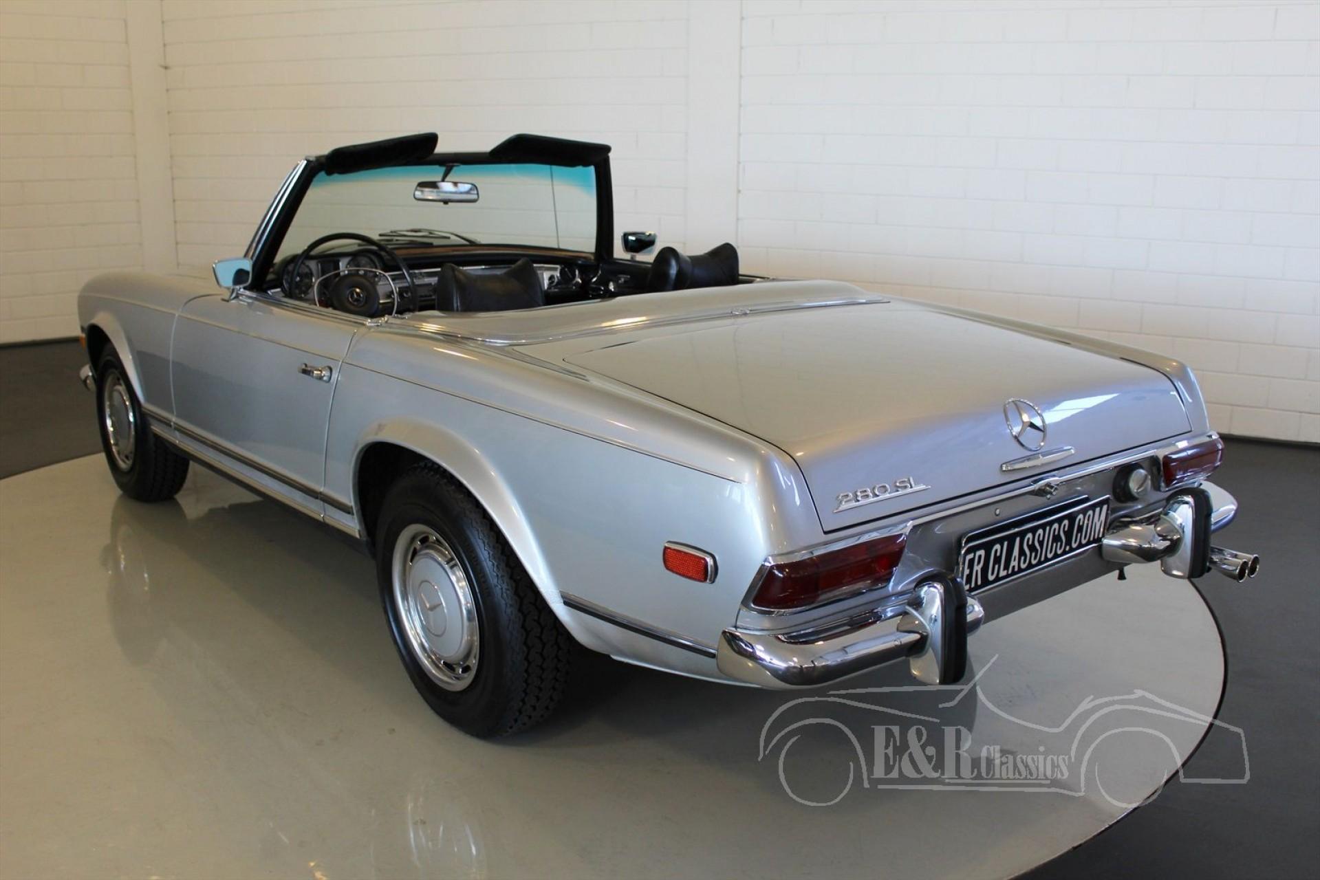 Mercedes benz 280sl 1969 for sale at erclassics for 1969 mercedes benz