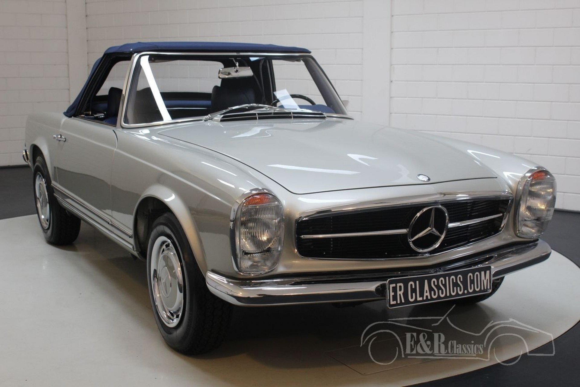 mercedes 280 sl pagode 1969 for sale at erclassics. Black Bedroom Furniture Sets. Home Design Ideas