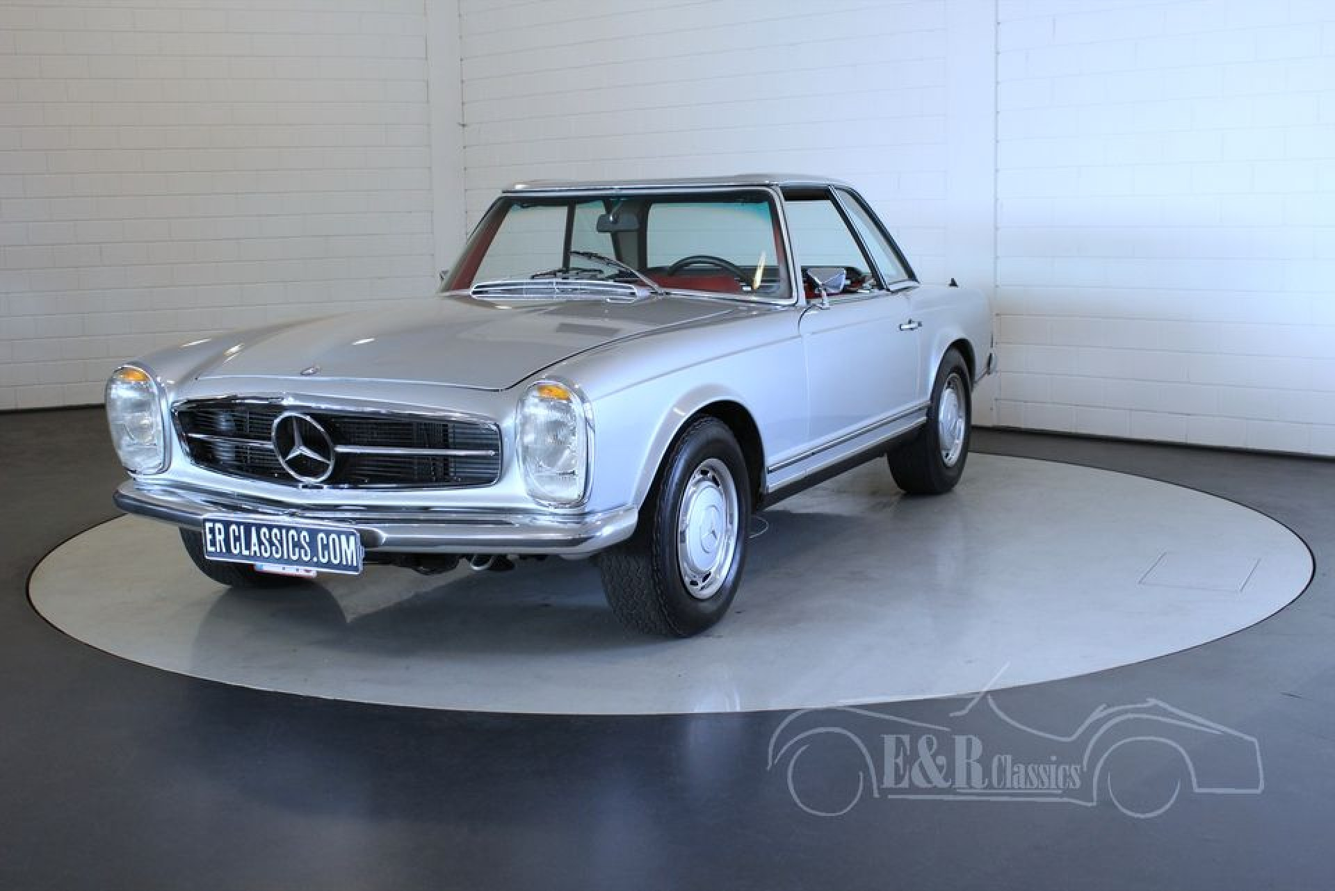 Mercedes Benz 280sl 1969 For Sale At Erclassics