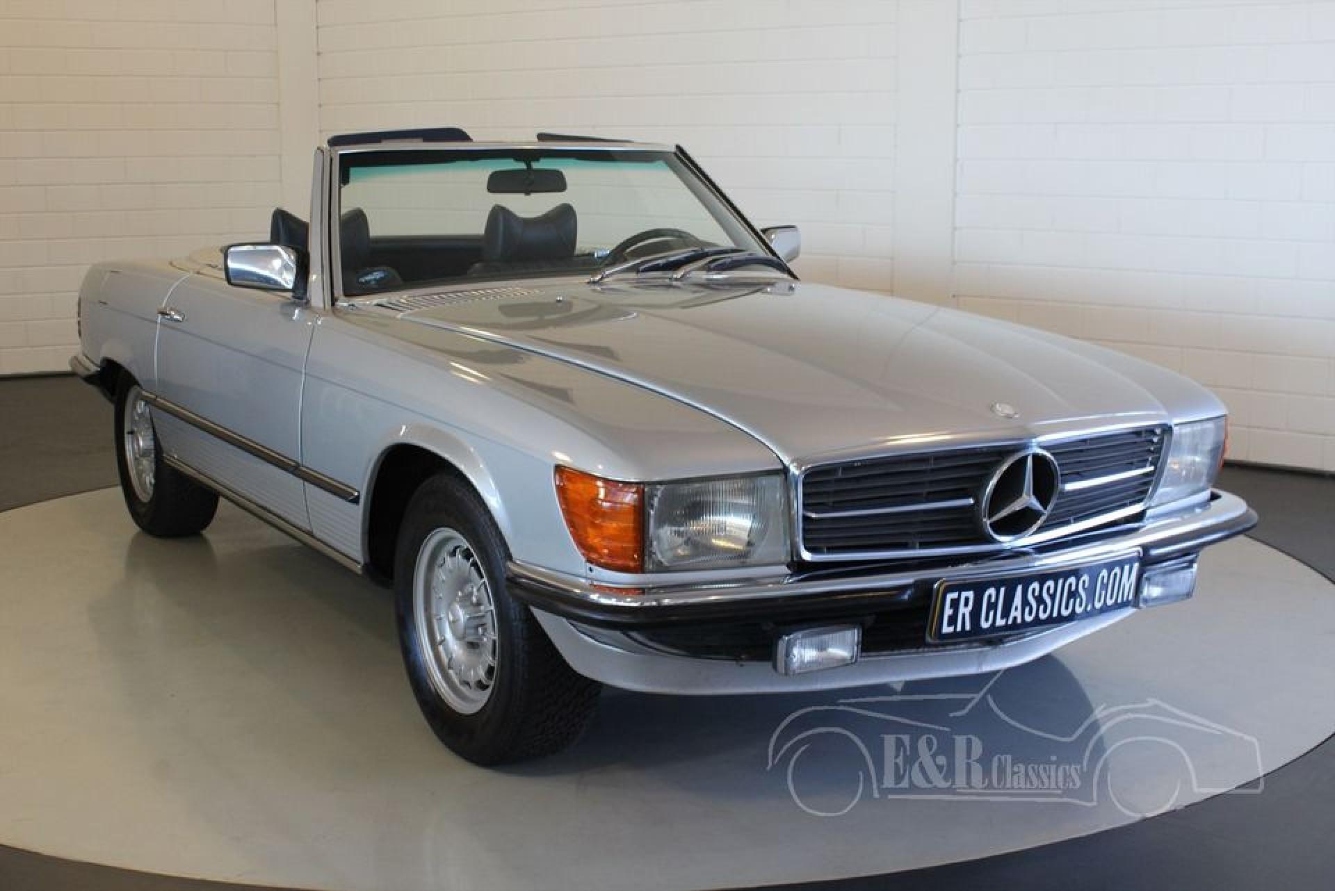 mercedes benz 280 sl cabriolet 1978 for sale at erclassics. Black Bedroom Furniture Sets. Home Design Ideas
