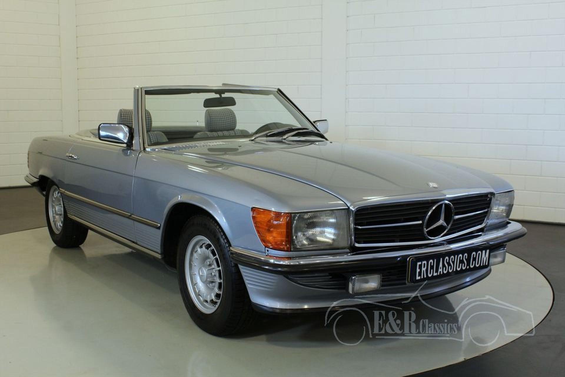 Mercedes benz 280sl cabriolet 1983 for sale at erclassics for Mercedes benz stock