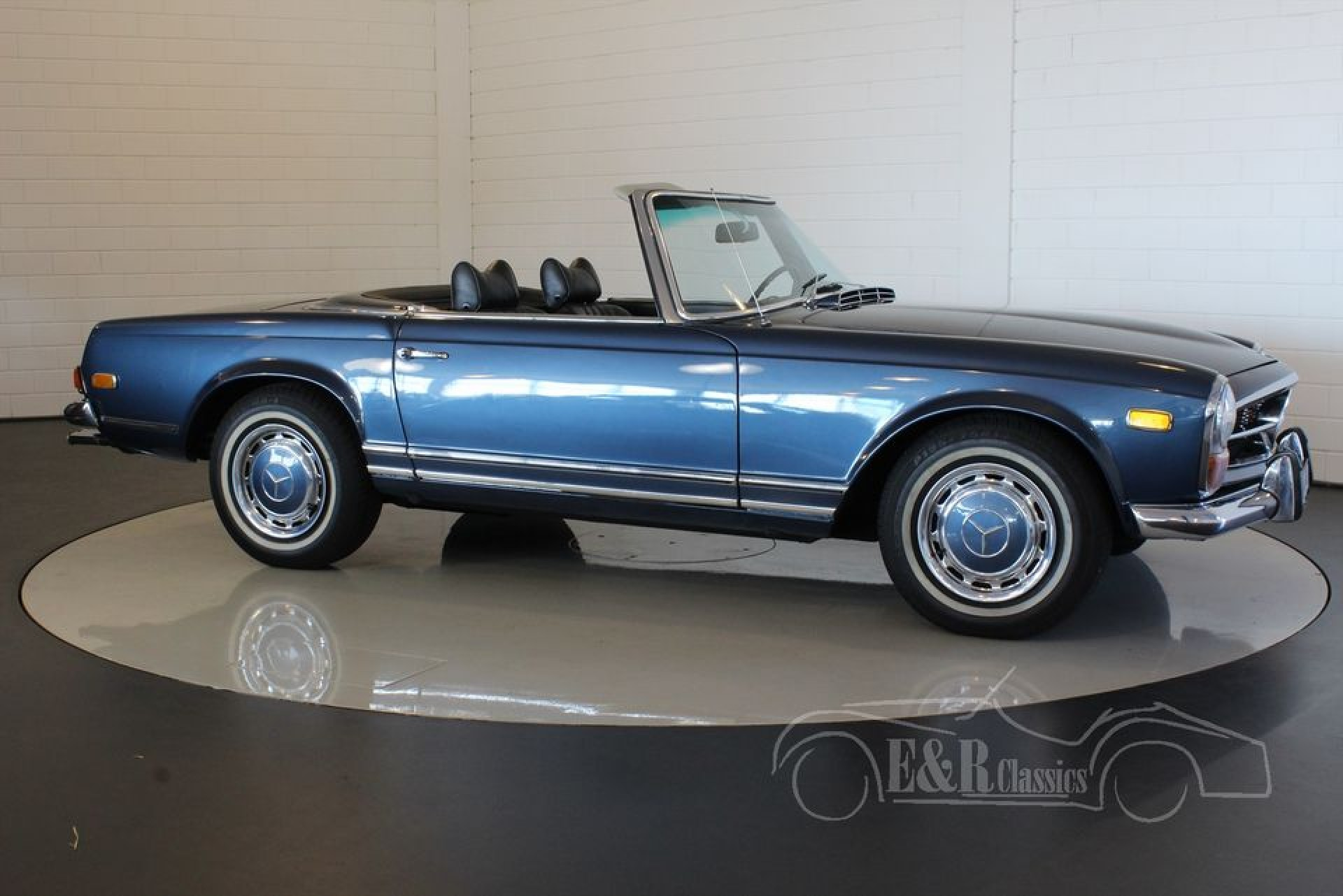 Mercedes benz 280sl automatic for sale at erclassics for Mercedes benz classics for sale