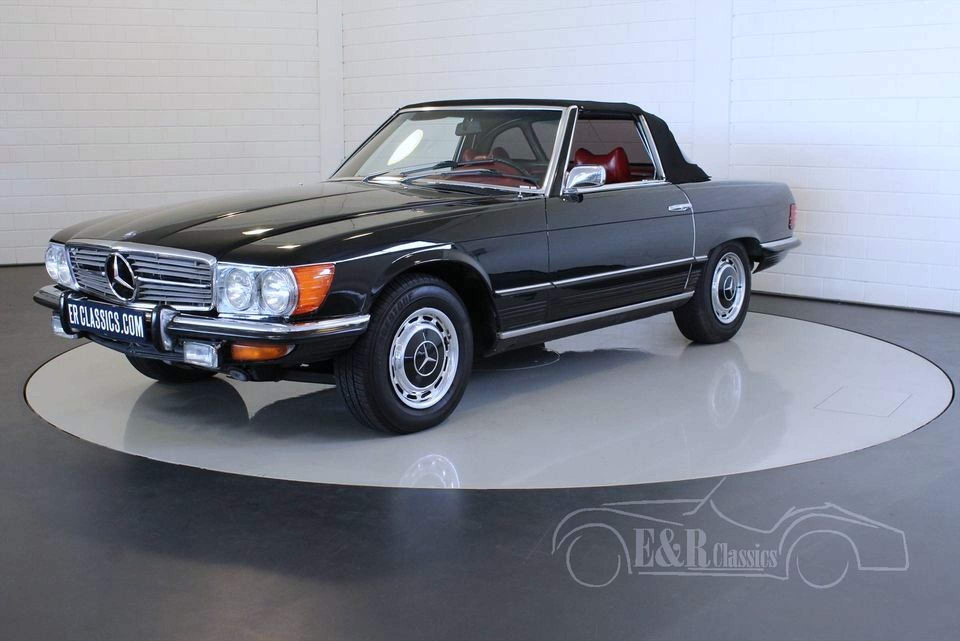 Mercedes benz 350 sl 1972 for sale at erclassics for Mercedes benz 350sl for sale