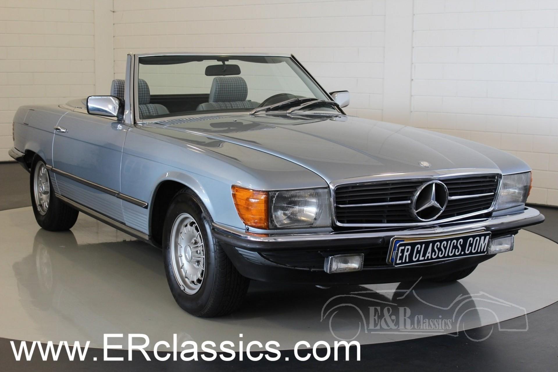 mercedes benz 280 sl cabriolet 1983 for sale at erclassics. Black Bedroom Furniture Sets. Home Design Ideas