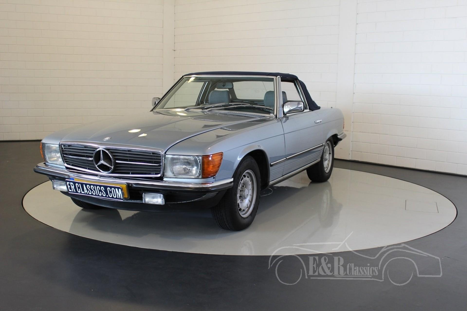 Mercedes benz 280 sl cabriolet 1983 for sale at erclassics for Mercedes benz 1983