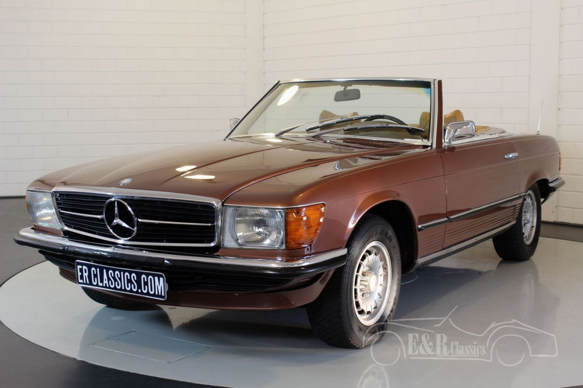 Mercedes benz 350sl 1972 for sale at erclassics for Mercedes benz 350sl for sale