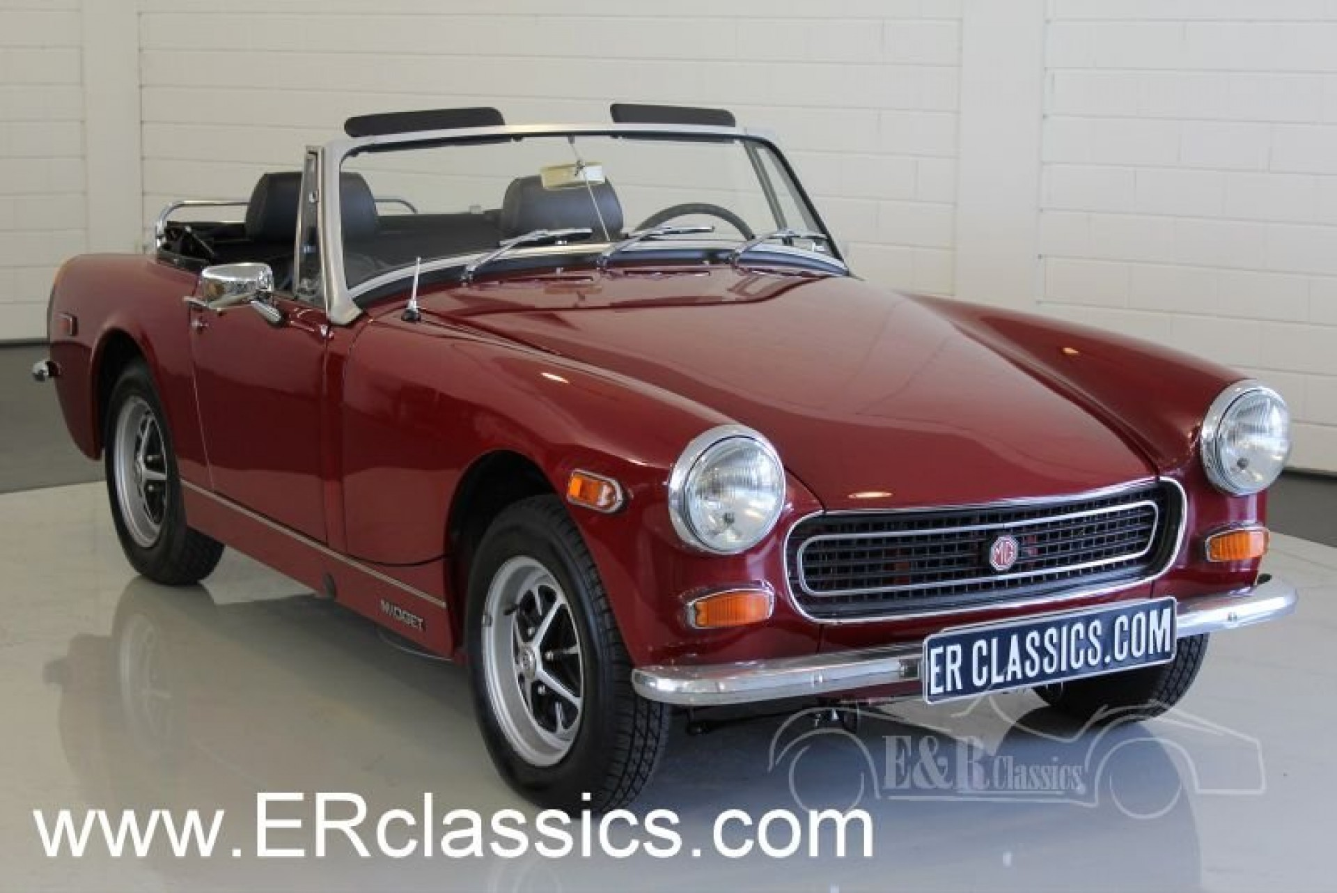 mg midget mk iii roadster 1974 for sale at erclassics. Black Bedroom Furniture Sets. Home Design Ideas
