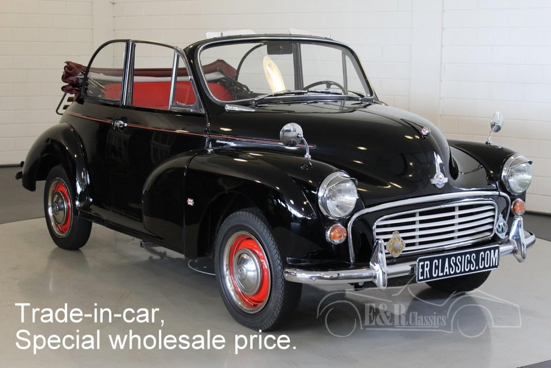 Morris Minor 1000 cabriolet 1960 for sale at ERclassics
