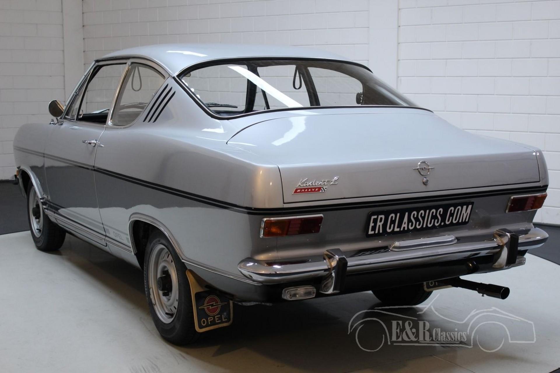 Opel Kadett B Rallye 1967 Rare Model For Sale At Erclassics