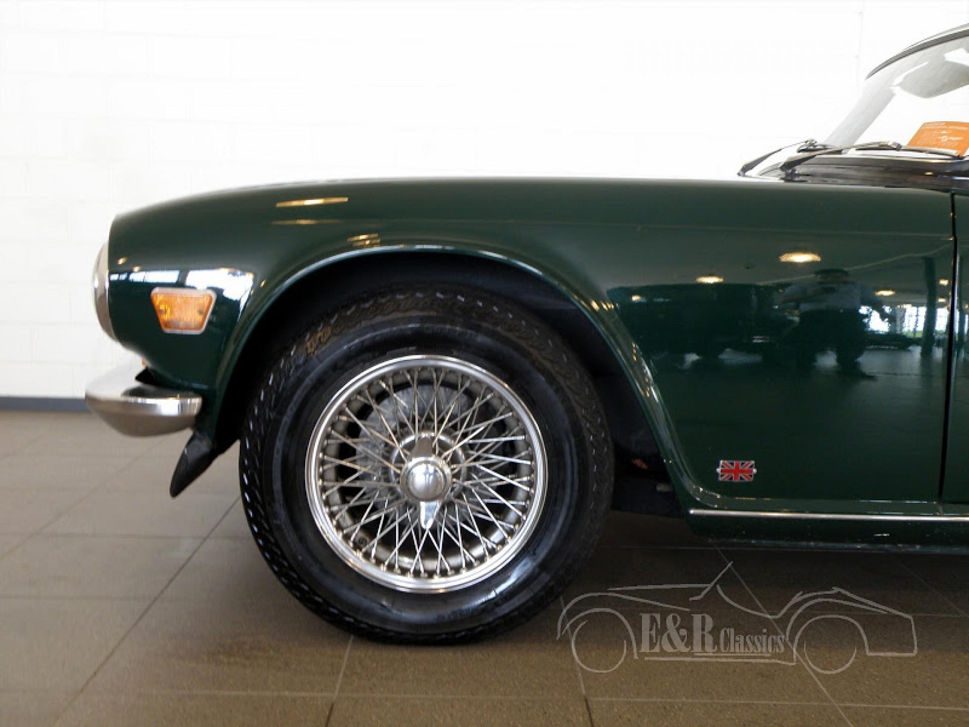 Triumph Classic Cars | Triumph oldtimers for sale at E & R Classic Cars!