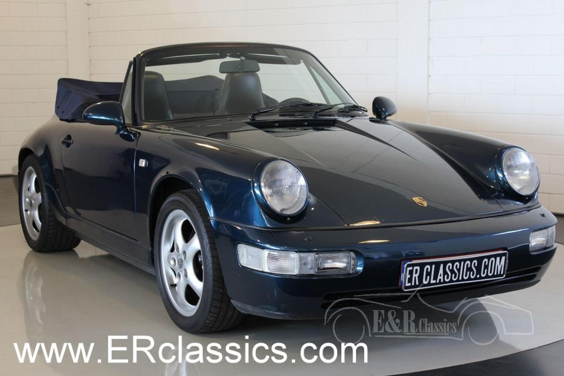 porsche 911 964 carrera 2 cabriolet 1991 for sale - Porsche Ancienne
