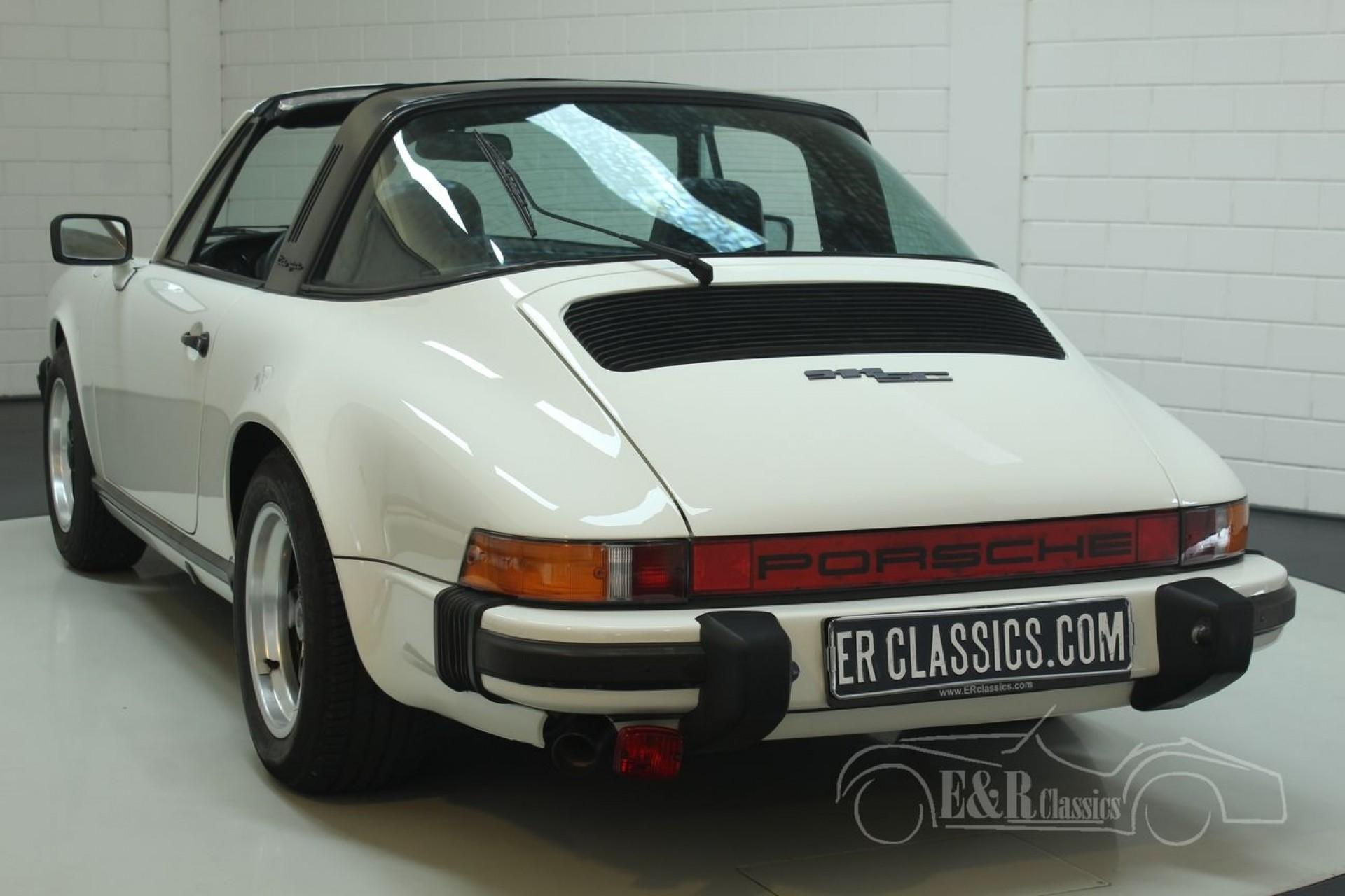 Porsche 911 SC Targa 1979 for sale at Erclassics