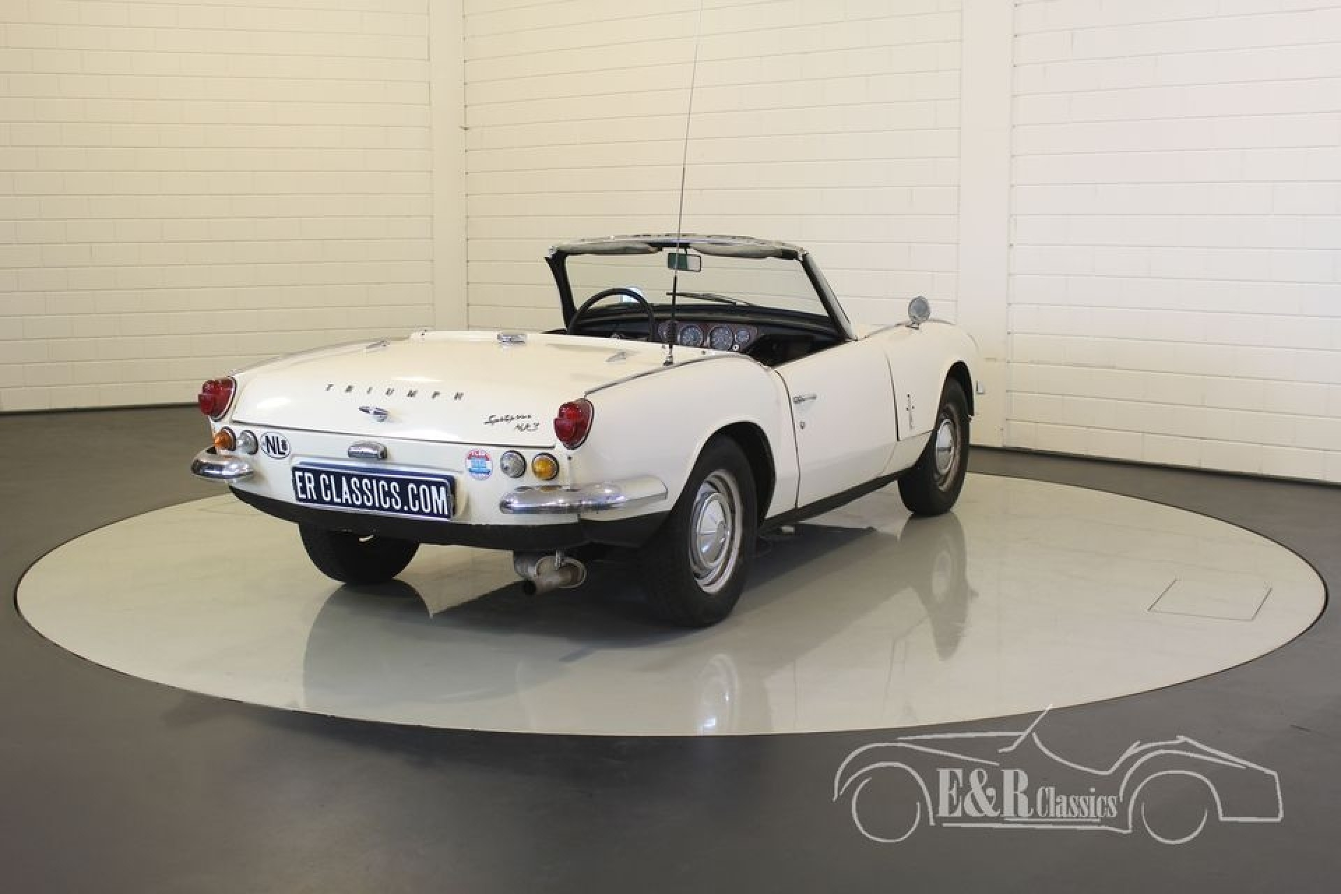 triumph spitfire mk3 cabriolet 1968 for sale at erclassics. Black Bedroom Furniture Sets. Home Design Ideas
