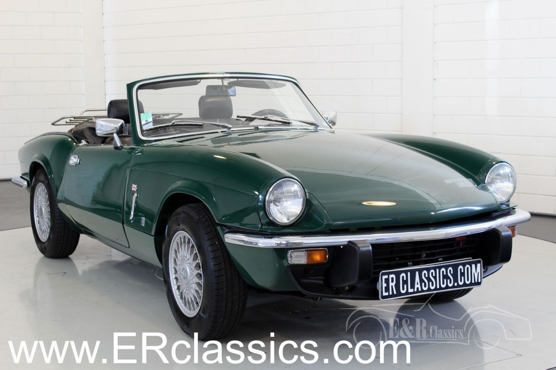 Triumph Spitfire cabriolet 1975 for sale at ERclassics